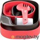 Набор пластиковой посуды Wildo CAMP-A-BOX Complete / W10269 (розовый)
