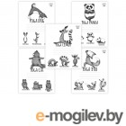 Тетради, дневники, обложки Тетрадь Hatber Animals Yoga 24 листов 24Т5В1