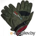 Перчатки горнолыжные No Brand G29 (зеленый)