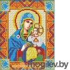 Набор алмазной вышивки Алмазная живопись Икона Неувядаемый цвет / АЖ-2008