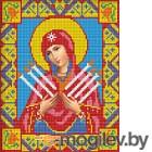 Набор алмазной вышивки Алмазная живопись Икона Семистрельная Богородица / АЖ-2009