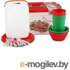 Набор пластиковой посуды Полимербыт 80940-80940