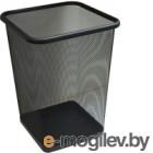 Корзина для бумаг Merida Квадрат KIC102 (10л, черный)