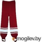 Рейтузы хоккейные Torres Sport Team / HR1109-02-162 (р-р 42, красный/белый)