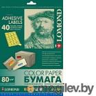 Бумага Lomond А4, 80 г/м, 50 л. / 2130195 (лимонно-желтая)