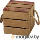 Ящик для хранения Белэкспоформ 1804.2.4 (коричневый)