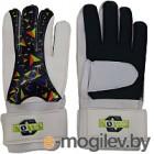 Перчатки вратарские Novus NFG-02 (S, белый/черный)
