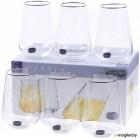 Набор стаканов Bohemia Crystal Sandra 23013/Q9107/380 (6шт)