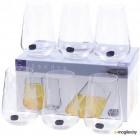 Набор стаканов Bohemia Crystal Sandra 23013/C5987/380 (6шт)