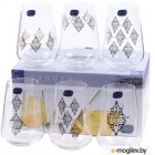 Набор стаканов Bohemia Crystal Sandra 23013/S1387/380 (6шт)