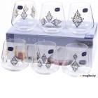 Набор стаканов Bohemia Crystal Sandra 23013/S1387/290 (6шт)