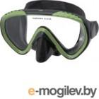 Маска для плавания IST Sports MP111-BS/GN черный/зеленый