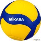 Мяч волейбольный Mikasa VT500W (размер 5, синий /желтый)