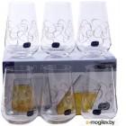 Набор стаканов Bohemia Crystal Sandra 23013/Q9203/380 (6шт)