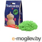 Космический песок 150гр + формочка Green KPZA3