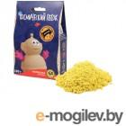 Космический песок 150гр + формочка Yellow KPZA2