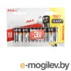 AAA - Energizer Max E92 1.5V (12 штук) E301530401 / 26039