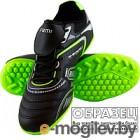 Бутсы футбольные Atemi SD400 TURF (черный/синий/серый, р-р 36)