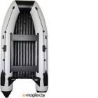 Надувная лодка Vivax Т300Р НДНД (с килем, серый/черный)