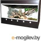 Террариум Lucky Reptile Стартовый комплект для эублефаров / SET-LG855DL (деревянный, черный)