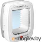 Откидная дверца для животных Ferplast Swing Microchip Large / 72093011 (белый)