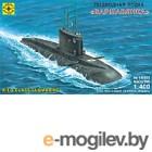 Сборная модель Моделист Подводная лодка Варшавянка 1:400 / 140055