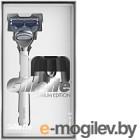 Набор косметики для бритья Gillette Станок Skinguard Sensitive+1кассета+магнитная подставка
