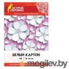Цветная бумага и картон Картон Остров Сокровищ А4 16 листов White 111314