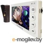 Видеодомофон Falcon Eye COSMO Plus дисплей 7 TFT; механические кнопки; подключение до 2-х вызывных панелей и до 2-х видеокамер ; OSD меню; адресный и