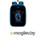 для старшеклассников и студентов Pixel Bag Max Indigo