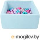 Игровой сухой бассейн Romana Airpool Box ДМФ-МК-02.55.01 (150 шариков, голубой)