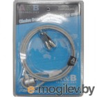 Трос безопасности для защиты ноутбуков с ключем Cable Lock NCL-101K