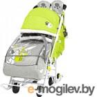 Санки-коляска Ника Disney-baby 2. Далматинец DB2/3 (лимонный)