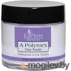 Пудра акриловая для ногтей EzFlow A-Polymer Clear Acrylic Powder (21г)