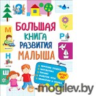Развивающая книга Росмэн Большая книга развития малыша