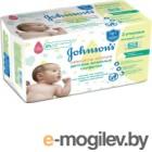 Влажные салфетки Johnsons Baby Нежность хлопка (112шт)