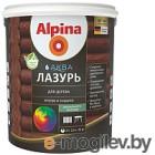 Лазурь для древесины Alpina Аква (900мл, палисандр)