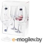 Набор бокалов для вина Bohemia Crystal Turbulence 40774/550-2 (2шт)
