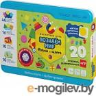 Развивающая игра Magneticus Мягкая магнитная азбука. Формы и цвета / POL-008