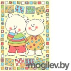 Плед детский ОТК Два медведя 100x140 / D321511/12YE (желтый)