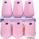 Набор стаканов Bohemia Crystal Sandra Pink 23013/D5123/380 (6шт)