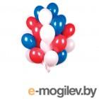 Все для праздника Набор воздушных шаров Поиск Триколор 30cm 30шт 4690296051006