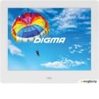 Фоторамка Digma 8 PF-843 IPS 1024x768 белый пластик ПДУ Видео