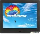 Фоторамка Digma 8 PF-843 1024x768 черный пластик ПДУ Видео