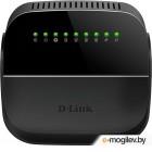 Роутер беспроводной D-Link DSL-2740U/R1A ADSL черный