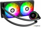 Комплект водяного охлаждения ID-COOLING ZOOMFLOW 240 X LGA2066/11/1366/1151/50/55/56/TR4/AM4/FM2/+/FM1/AM3/+/AM2/+/ (6шт/кор,TDP 250W, Addressable RGB FAN and PUMP, PWM, DUAL FAN 120mm) RET