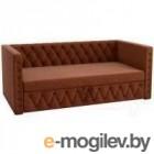 Кровать-тахта Mebelico Таранто 7 / 59517 (рогожка, коричневый)