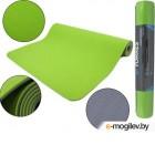 Коврик для йоги и фитнеса Torres Comfort 4 / YL10074 (зеленый/серый)