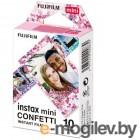 Fujifilm Colorfilm Instax Mini Confetti кассета 10L 16620917