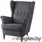 Кресло мягкое Ikea Страндмон 204.198.84